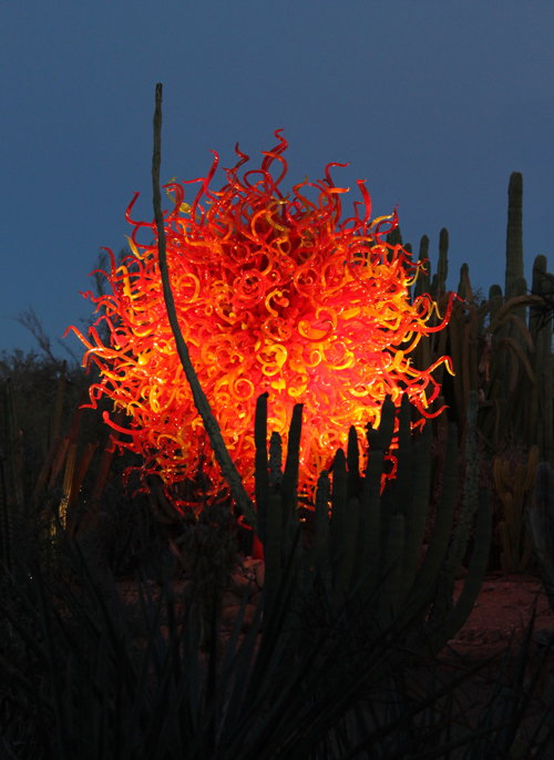 Fireball in the Desert