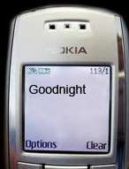 Goodnight Text Message