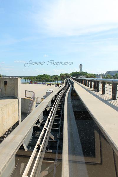 Air Tram Track