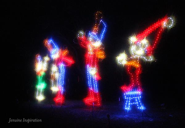 Marching Band Xmas Lights